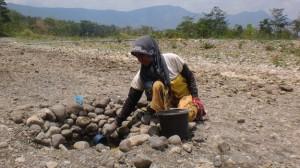 Areal Pertanian Sekitar Sungai Cijangkelok Kehilangan Sumber Air