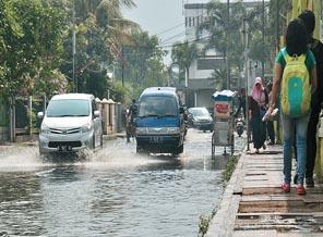 Banjir Cileuncang Sulit Teratasi-Tiga Kecamatan Rawan Bencana Alam