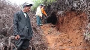 61 Rumah Warga Dusun Bangbayang Terancam Longsor
