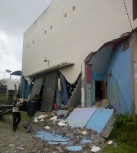 Ini Penampakan Kerusakan Bangunan di Takengon Aceh Akibat Gempa