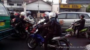 Arus Balik Pemudik Mulai Padati Jalan Soekarno-Hatta ke Arah Barat