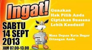 Di Bogor, Hari Pencoblosan Ditetapkan Sebagai Hari Libur