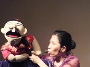 Dalang Filipina Meriahkan Festival Wayang Internasional 2013 di Bandung