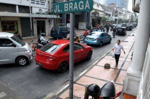 Wali Kota Bandung Berencana Jalan Braga Dibeton
