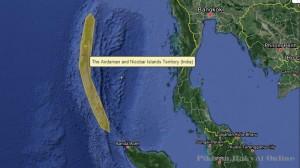 Pesawat Malaysia Diduga Mendarat di Pulau Andaman