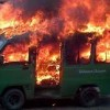 Tragis, Balita 2 Tahun Tewas Terbakar Dalam Angkot