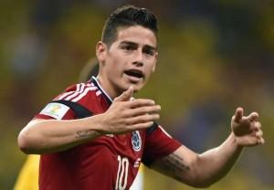 James Rodriguez Sabet Penghargaan Sepatu Emas Piala Dunia 2014