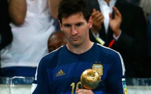 Diego Maradona: Lionel Messi Tidak Pantas Dapatkan Golden Ball