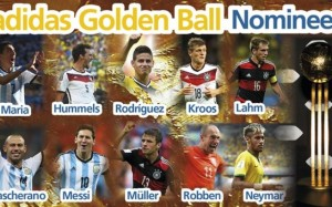 10 Kandidat Pemain Terbaik Peraih Golden Ball Piala Dunia 2014