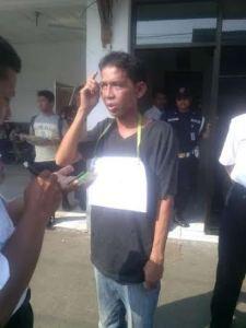 Ketahuan Nyopet, Pria Ini Dipajang di Stasiun Bekasi