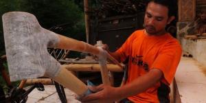 Sepeda Bambu asal Bogor Diminati Pasar Eropa dan Amerika