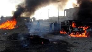 Pesawat Tempur Assad Bombardir Raqqah, Puluhan Warga Sipil Tewas