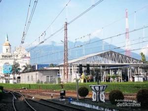 Paduan Klasik & Modern di Stasiun Bogor