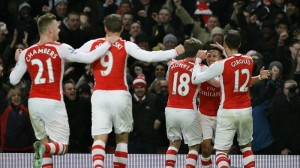 Hasil Liga Inggris Tengah Pekan, Kamis (4/12/2014)