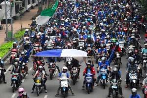 Laga Final IIC, 20 Bus Bobotoh Serbu Palembang