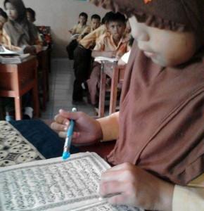 Kegiatan siswa Madrasah setiap hari