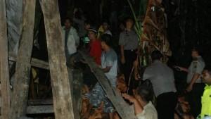 6 Tewas Tertimbun Longsor di Padangsidimpuan