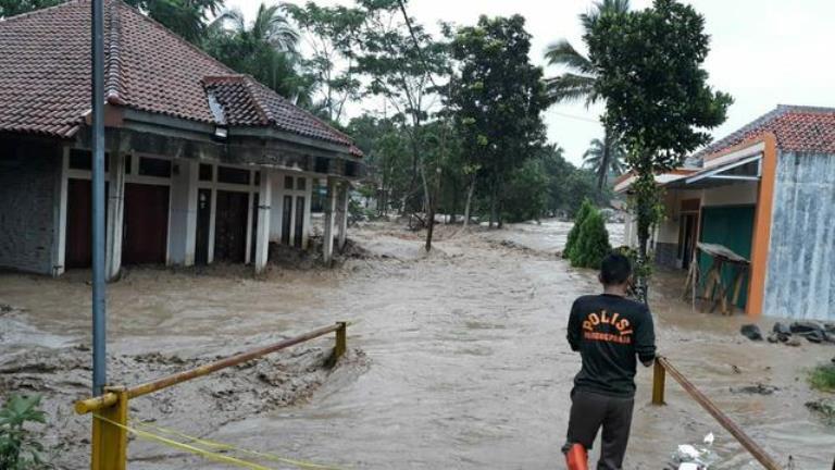 banjir di jasinga bogor
